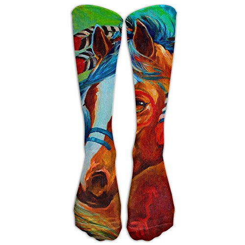 Indian Dress Horse Unisex Casual Long Socks Stockings Crazy Pattern Cotton Socks For Men Women