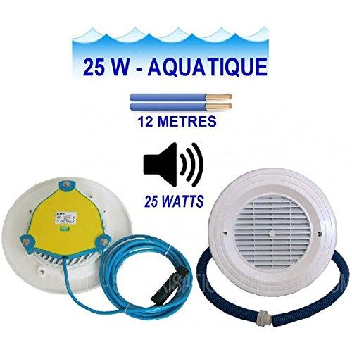 Aqua Fase-E- altavoz 25 acuático nicho de 25 Vatios empotrable: Amazon.es: Instrumentos musicales