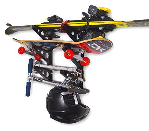 StoreYourBoard Trifecta Rack | 3 Board Home Storage (Skate Storage Rack)