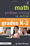 img - for Math Problem Solving in Action: Getting Students to Love Word Problems, Grades K-2 book / textbook / text book