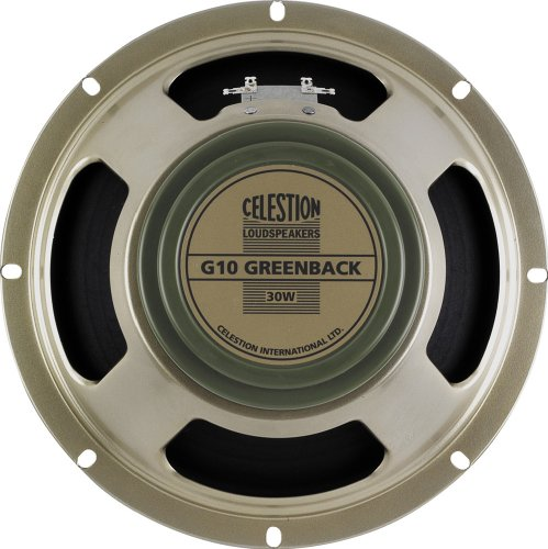 Celestion Home Speakers - Celestion G10 Greenback Guitar Speaker, 8 Ohm