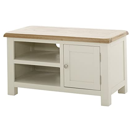 sports shoes a4157 7481a The Furniture Market Cotswold Cream Painted Small TV Unit ...
