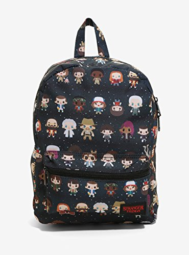 Netflix Stranger Things Characters Mini Backpack School Book ()