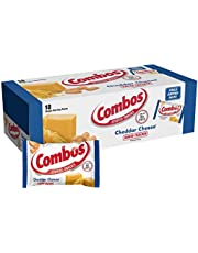 COMBOS Cheddar Cheese Cracker Baked Snacks (Pack of 12)