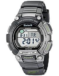 Casio Men's STB-1000-1CF Omni Sync Sports Gear Bluetooth Fitness Smartwatch