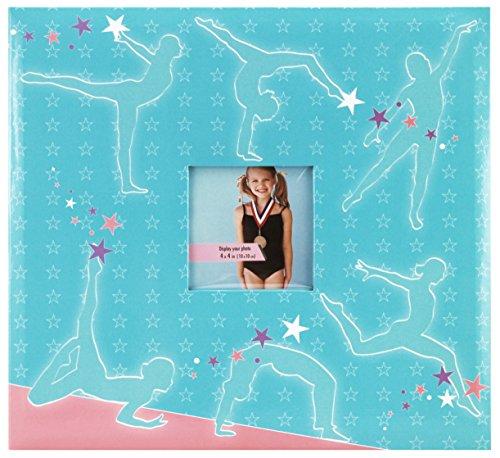 (MBI 12x12 Inch Sport and Hobby Postbound Album, Gymnastics (865409) )