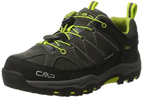 amp; Low CMP Braun Unisex Erwachsene Wanderschuhe Wp asphalt Teak Rigel Trekking 3Q13244 110HxTq