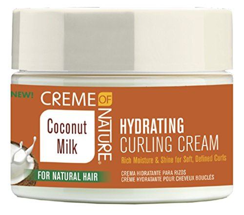 Creme Of Nature Coconut Milk Hydrating Curling Cream 11.5 Ounce (340ml) - Hydrating Coconut Milk