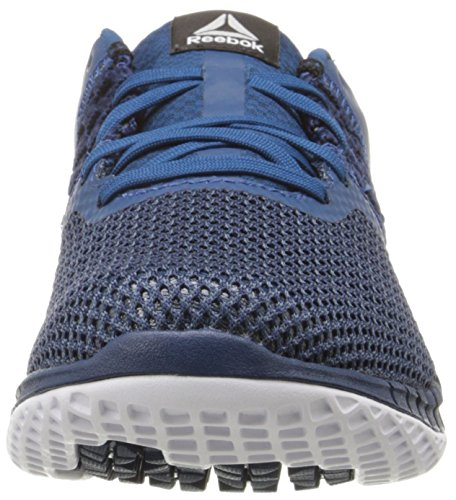 Reebok Womens Zprint Run Hazard Gp Walking Shoe Nobile Blu / Blu Scuro / Bianco