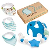 Baby Shower Gift Idea: Baby Shower Gifts For Boys - Teether Pacifier Clip