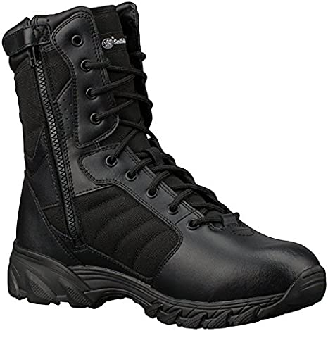 Smith & Wesson Breach 2.0 Men's Tactical Side-Zip Boots (13W, 9