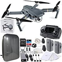 DJI Mavic Pro Collapsible Quadcopter Hardshell Backpack Essential Bundle