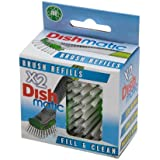 Dishmatic Brush Refill 2 per pack from Caraselle
