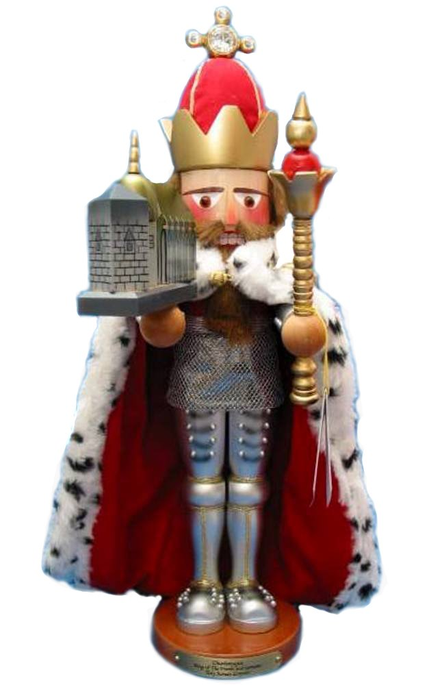 Retired Adler Exclusive Limited Edition Signed Late Herr Christian Steinbach *Charlemagne* Nutcracker