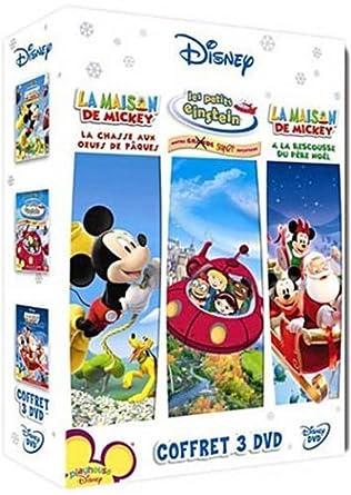 Coffret Disney Channel   La Maison De Mickey : A La Rescousse Du Père Noël U0026