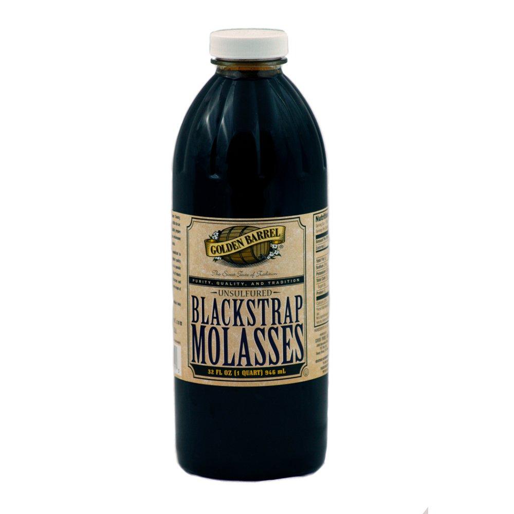Golden Barrel Blackstrap Molasses (12/32 fl. oz. Narrow Mouth Case)