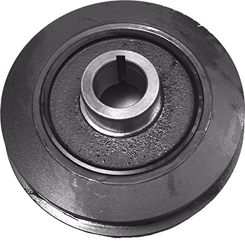 (Well Auto Harmonic Balancer for 98-04 Frontier 4cyl 2.4L 00-04 Xterra 4cyl 2.4 89-97 Nissan Pickup 2.4L 12303-3S500 was 2pcs but this one pc pulley can fit)