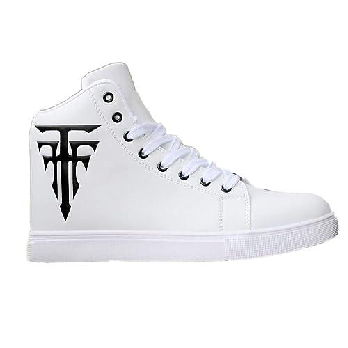 Zapatos de Skate con Cordones Suela de Goma Casual Citas ...