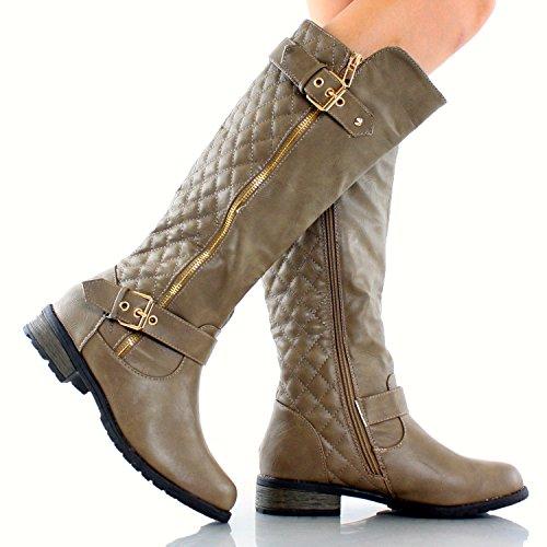 Jjf Schoenen Voor Altijd Link Mango-21 Lady Boot Taupe Pu
