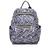 Junior Travel Backpacks,Hemlock Teen Girl Schoolbags Shoulder Bag (Grey)