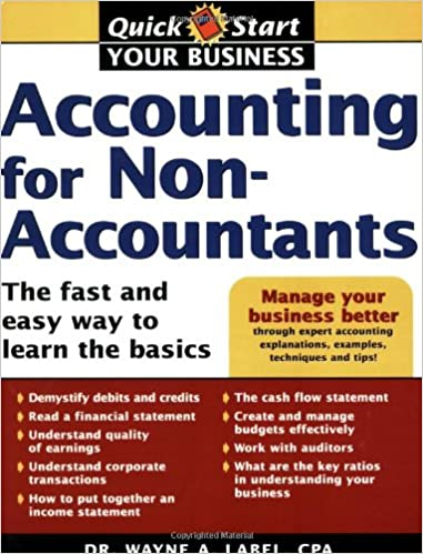 Accounting for non accountants the fast and easy way to learn the accounting for non accountants the fast and easy way to learn the basics 0th edition fandeluxe