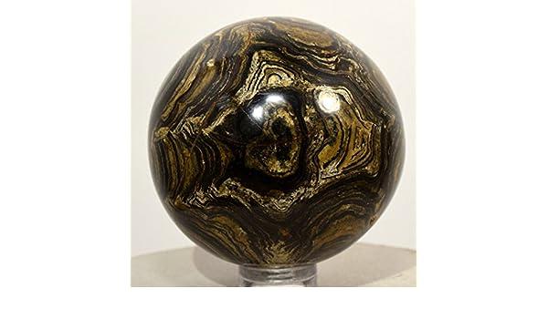 53 mm peruano estromatolito esfera Natural Algas fósiles ...