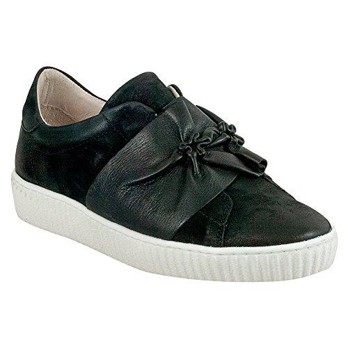 Miz Mooz Orbit Womens Sneaker In Pelle Nero