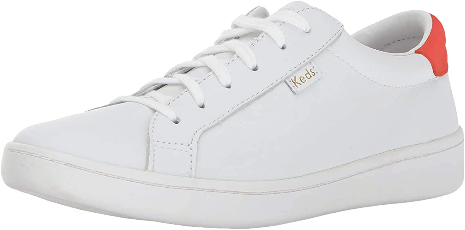 Keds Women's Ace Low Top Leather White