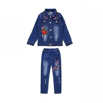 ventas especiales venta de bajo precio Venta barata Conjuntos de ropa vaquera para niña Chaqueta y jeans ...