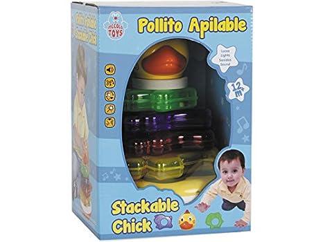 PICCOLOTOYS Tentetieso Pollito: Amazon.es: Juguetes y juegos