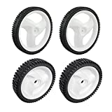 Craftsman 431880X427 Rear Lawn Mower Wheel and Craftsman 532403111 Lawn Mower Drive Wheel Bundle