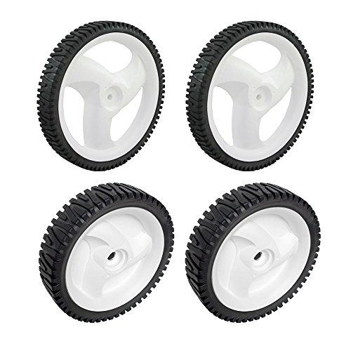 Craftsman 431880X427 Rear Lawn Mower Wheel and Craftsman 532403111 Lawn Mower Drive Wheel Bundle ()