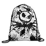TRYdoo Jack Skellington Halloween Drawstring Backpacks/Bags Review