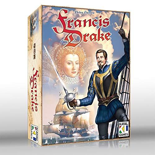 Jogo de Tabuleiro Francis Drake