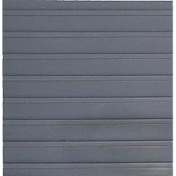 Rib Pattern Slate Grey - 55 Mil - 10' x 20' Garage Flooring Rolls