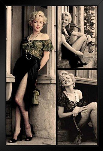 Pyramid America Marilyn Monroe Doorway Movie Framed Poster 14x20 inch