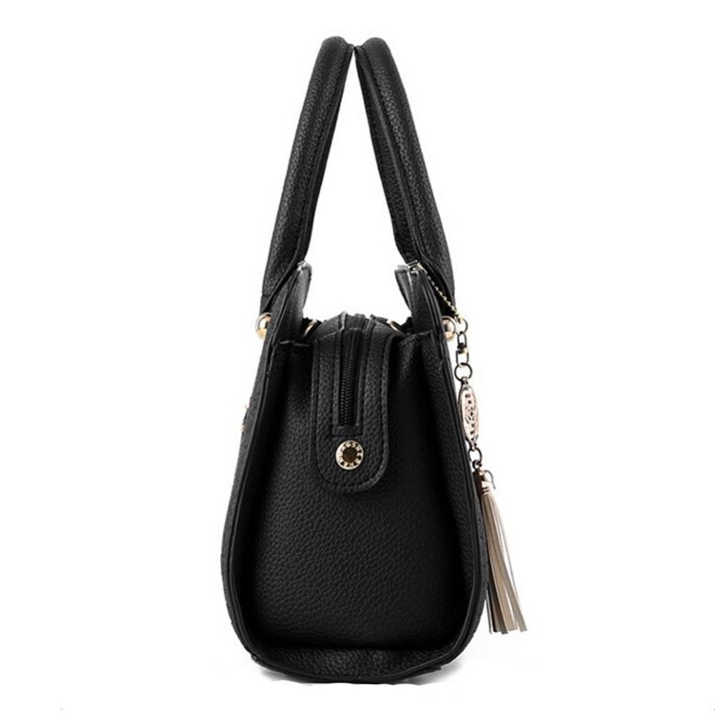 3f0218808c2 Neartime Women Handbag, 2018 Woman s Tassel Crossbody Bags Leather Satchels Alligator  Pattern Zipper Shoulder Bag (❤️28cm(L)×13cm(W)×20cm(H), Light blue)  ...