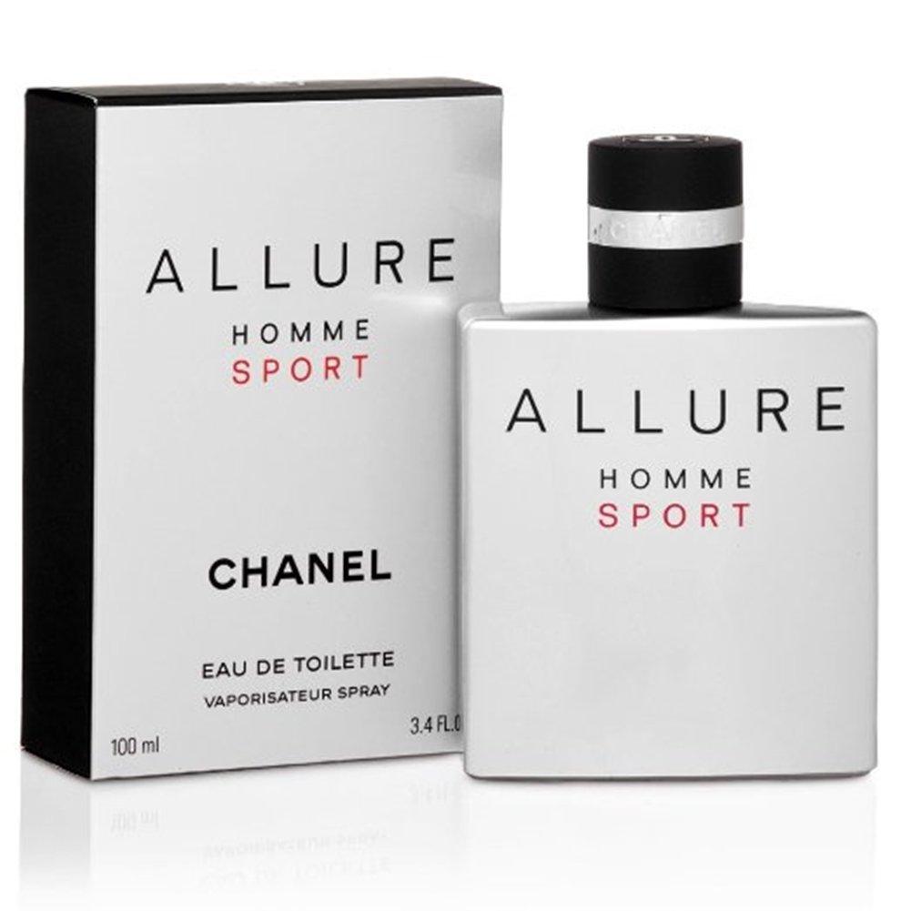 CHȂNEL Allure Homme Sport EDT Spray for Men 3.4 FL. OZ.