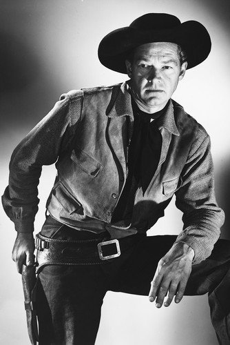 Bill Williams Western Pose Poster