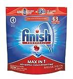 Finish - Max in 1-63ct - Dishwasher Detergent