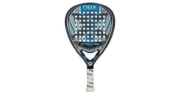 NOX Attraction A.1-Padel Tennis Racquet, Color azl by NOX: Amazon ...