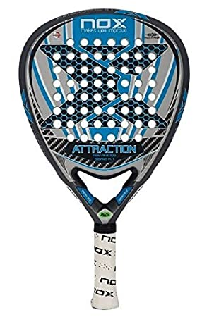 NOX Attraction A.1-Padel Tennis Racquet, Color azl by NOX ...