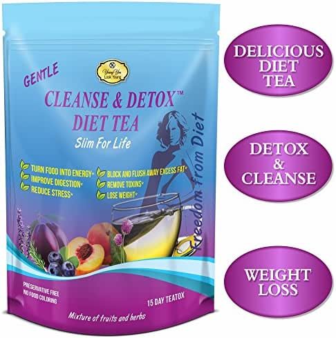 Detox Tea for Weight Loss - Appetite Suppressant, Diet Tea, Anti-Oxidant, Bloating and Constipation Relief
