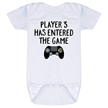 09838b0ae44 Amazon.com: Baby & Infant Onesie | Player 3 Has Entered The Game ...