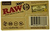 RAW 300 Classic 1.25 1 1/4 Size Rolling Papers, 300