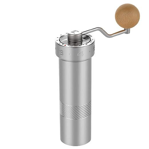 Molinillo de café, de Casiz, de acero inoxidable, ajustable ...