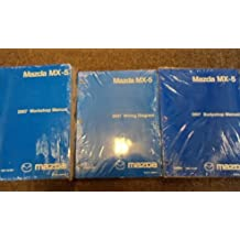 2007 Mazda MX-5 MX5 Miata Service Repair Shop Manual SET FACTORY OEM BRAND NEW