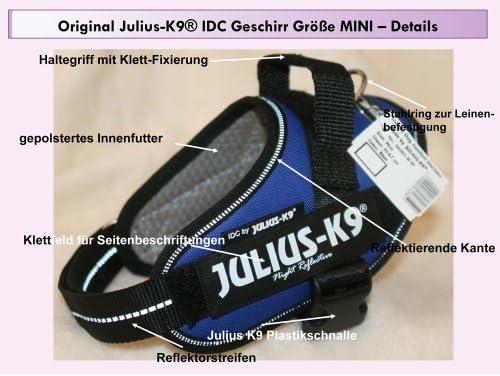 Arnés de Perro 16IDC-B-M Julius K9 IDC INNOVA para Etiquetas ...