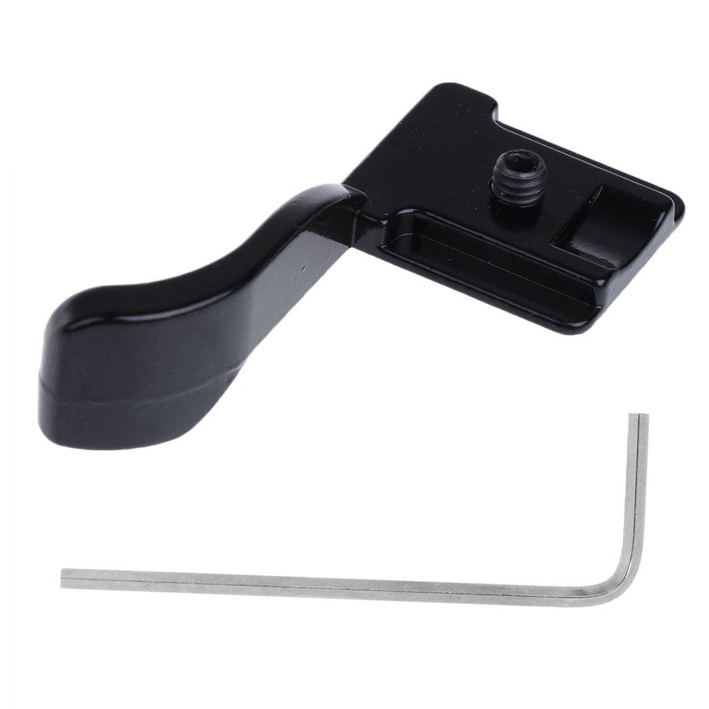 Olympus PEN E-PM2 X10 X20 Pentax Q fits: Fujifilm X100S E-PL2 Black E-P3 Olympus XZ-2 iHS Panasonic Lumix DMC-LX7 E-PM1 X-E1 Baoblaze Thumb Grip for Mirrorless Digital Cameras