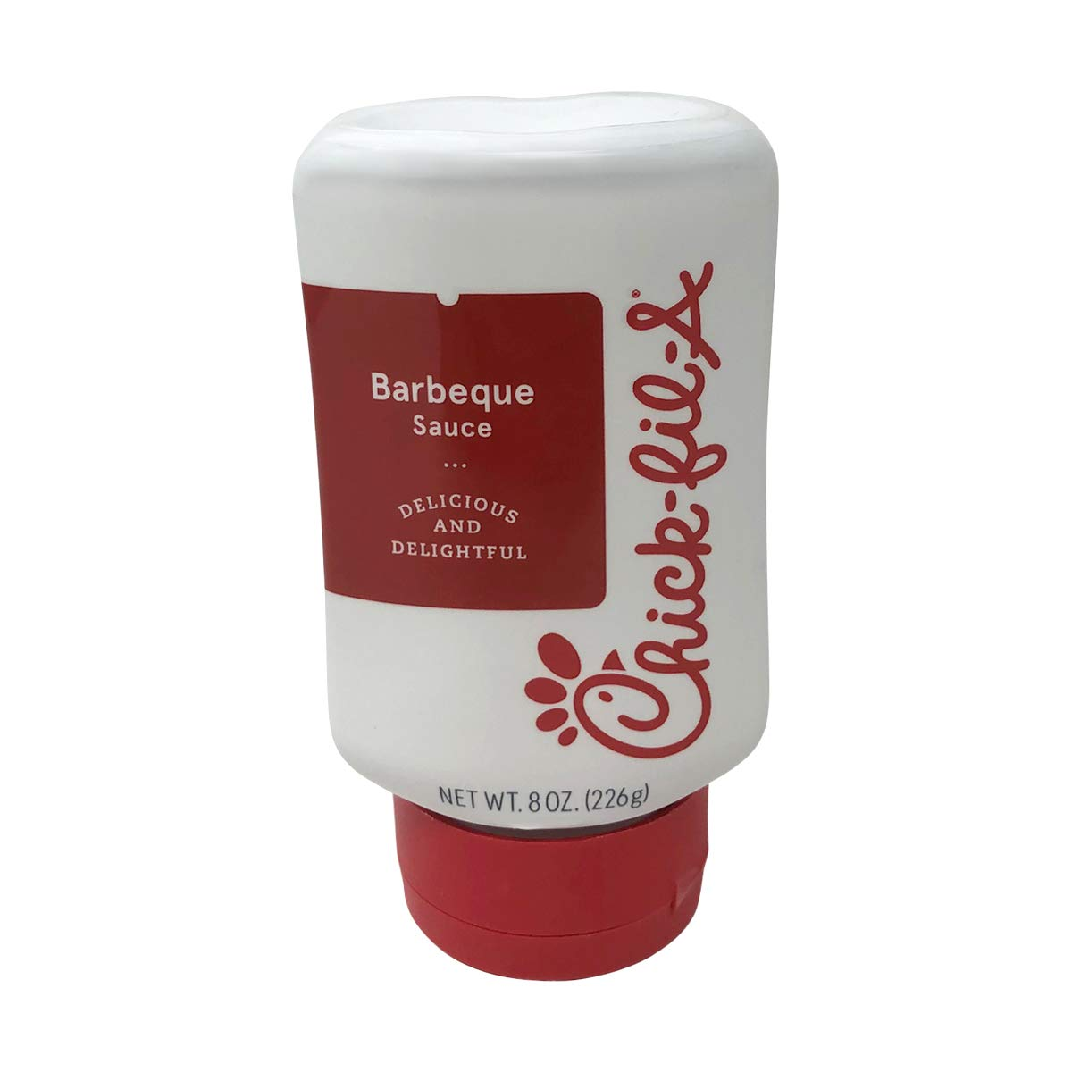 Chick-Fil-A Sauce 8 oz. Squeeze Bottle - Resealable Container for Dipping, Drizzling, and Marinades (Barbeque)